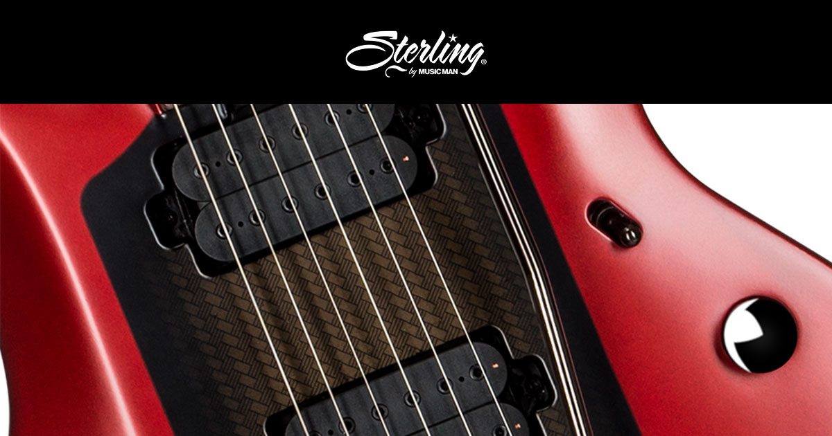Sterling by Music Man distribuito in Italia da Eko Music Group